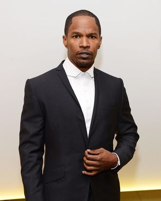 Actor Jamie Foxx attends the Los Angeles Premiere of