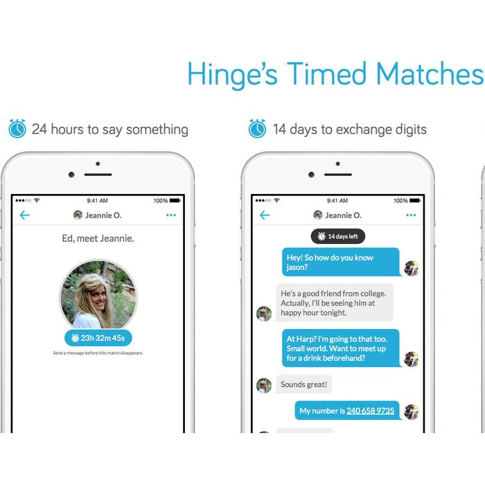 hinge app no matches