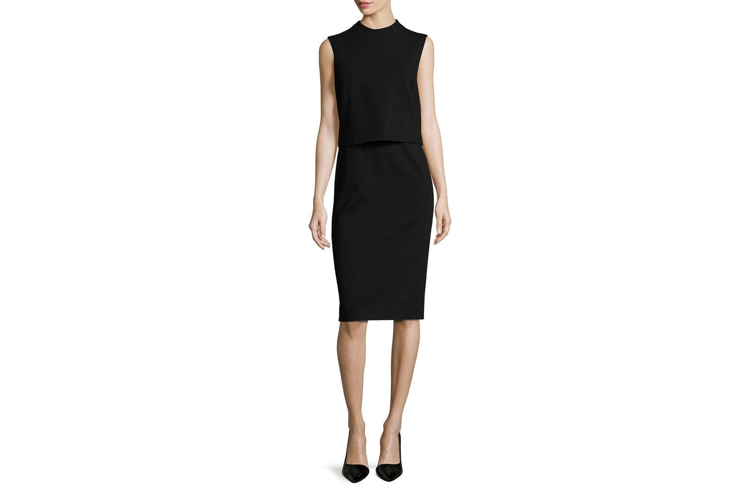 Diane von Furstenberg Tali Popover Sleeveless Sheath Dress