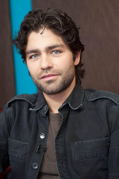 "Actor Adrian Grenier attends Adrian Grenier And Busy Phillips Visit ""What's Trending"" on March 28, 2012 in Hollywood, California."