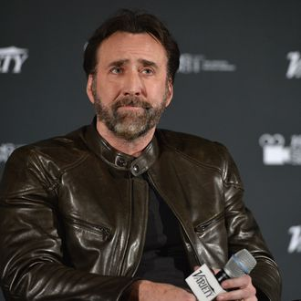HOLLYWOOD, CA - DECEMBER 02: Actor Nicolas Cage attends the 2013 Variety Screening Series of