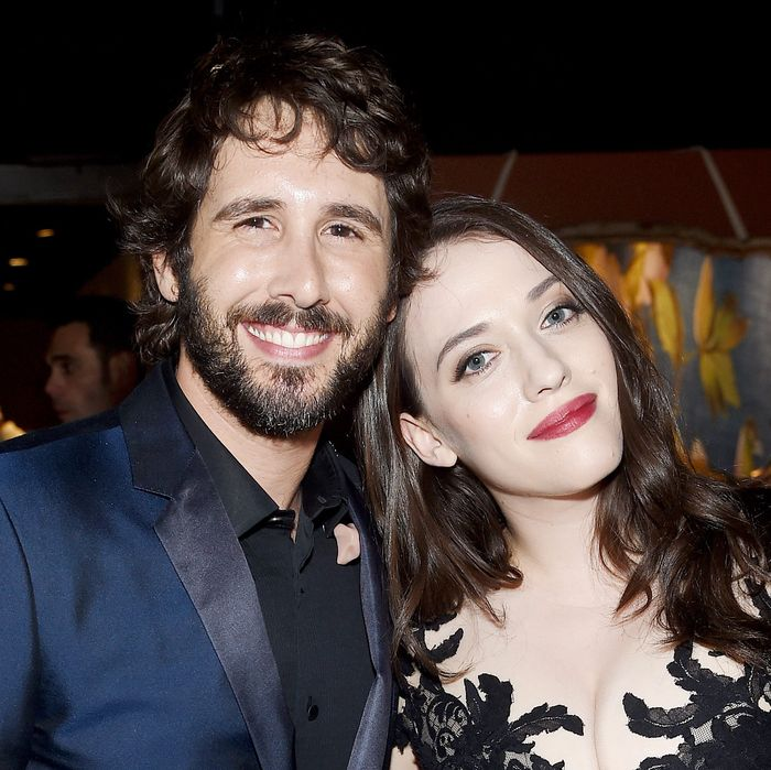 Josh Groban and Kat Dennings.