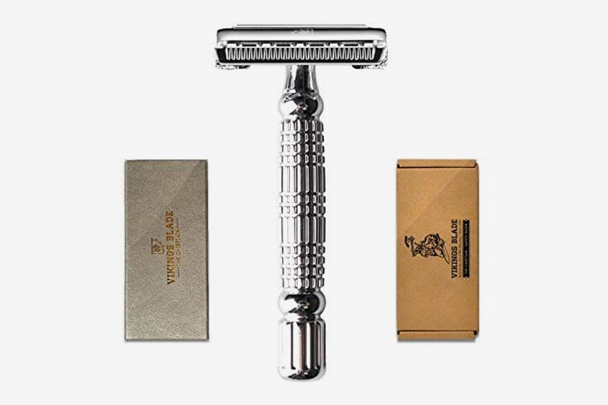 """Vikings Blade """"The Chieftain"""" Butterfly Safety Razor"""