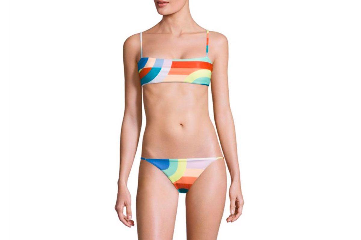 Mara Hoffman Meridian Cami Bikini Top