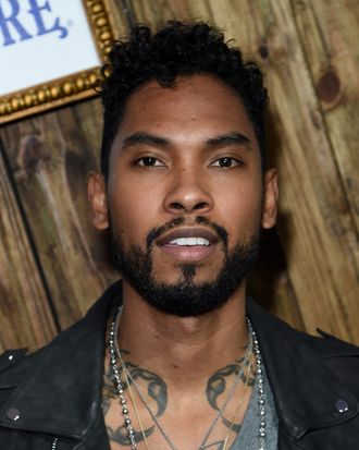 MIAMI, FL - DECEMBER 04: Recording artist Miguel attends the 5th Annual Bombay Sapphire Artisan Series Finale at Tent at Soho Beach House on December 4, 2014 in Miami, Florida. (Photo by Jamie McCarthy/Getty Images for Bombay Sapphire)