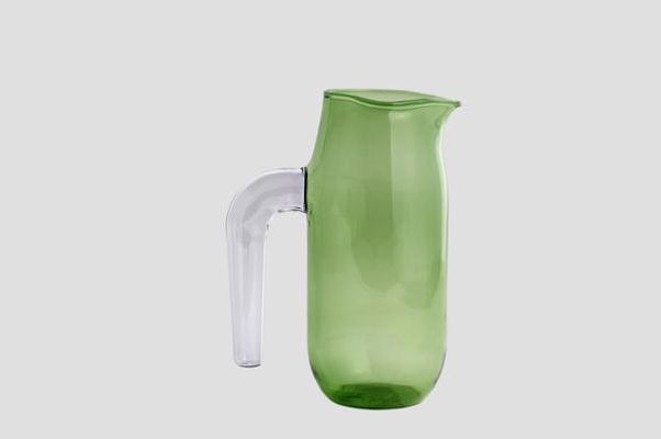 Hay large green jug