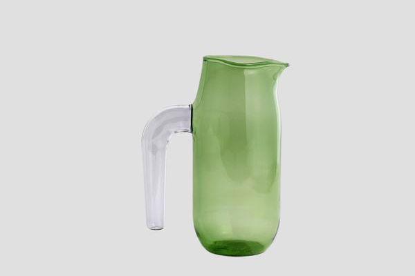 Hay large green jug