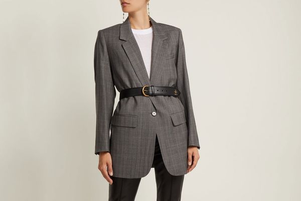 Isabel Marant Etoile Nerix single breasted wool blazer