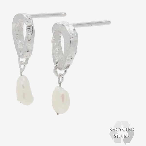 Dio Recycled Silver Earrings