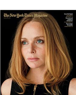 Stella McCartney's <em>New York Times Magazine</em> cover.
