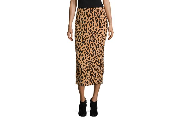Diane von Furstenberg Tailored-Fit Midi Pencil Skirt