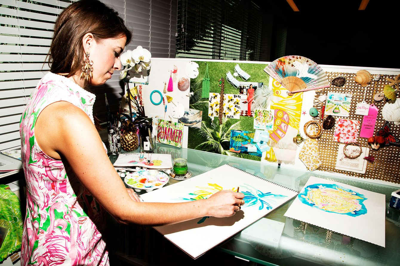 inside lilly pulitzer s print crazy headquarters the cut
