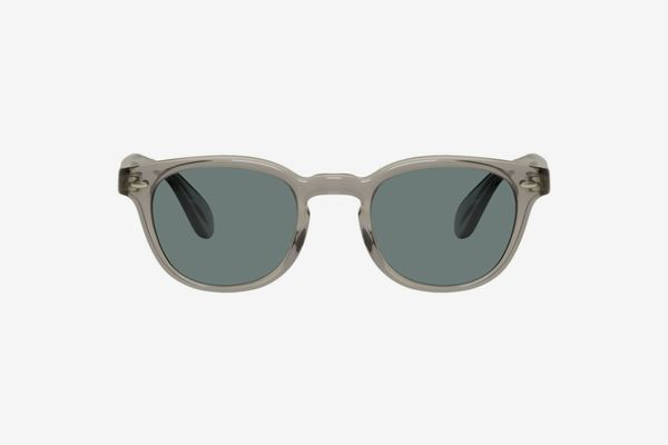 Oliver Peoples Grey Sheldrake Sunglasses