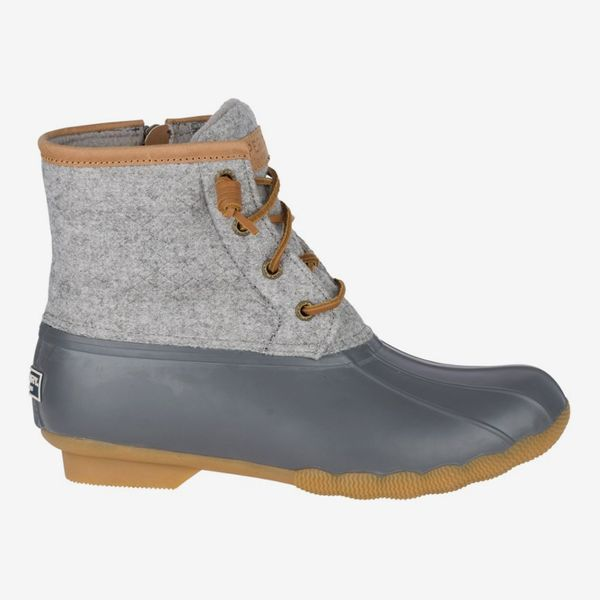 Sperry Top-Sider Saltwater Embossed Wool Duck Boots