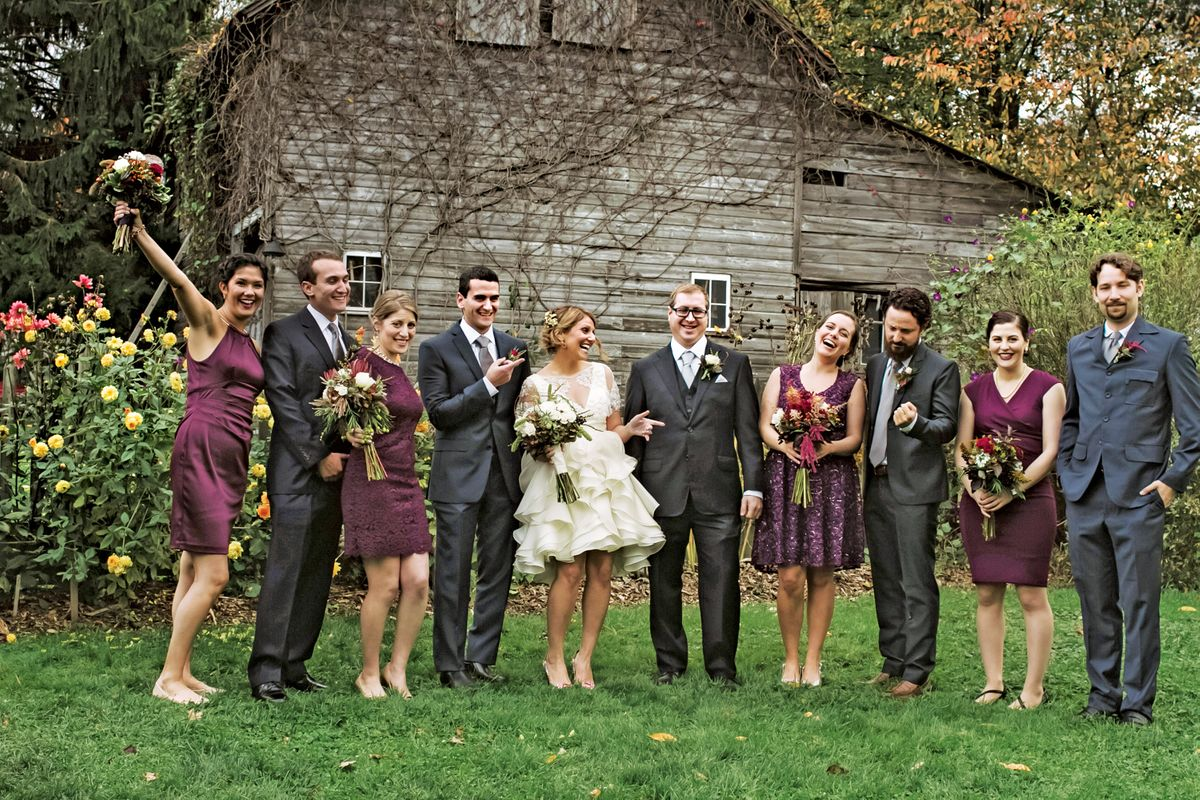 Nymag Real Weddings: - A Fall Farm Gathering