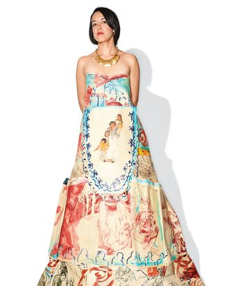 """""""The idea was for the dress to look European, but also speak to the history of colonialism."""""""