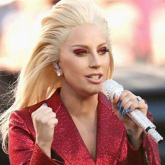 Lady Gaga Sings The National Anthem At Super Bowl 50