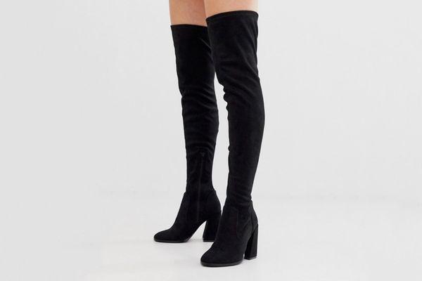 ASOS Curve 'Korey' Thigh High Boots