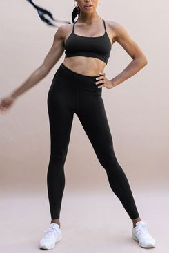 Girlfriend Black FLOAT Seamless High-Rise Legging