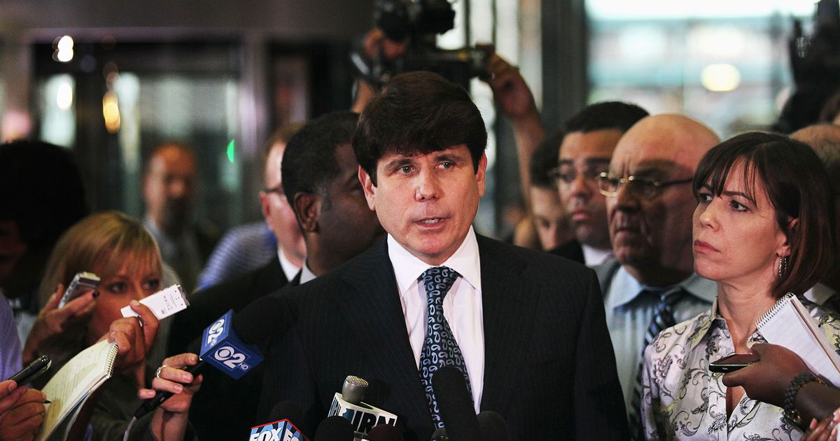 Trump Again Flirts With Commuting Rod Blagojevich's Sentence