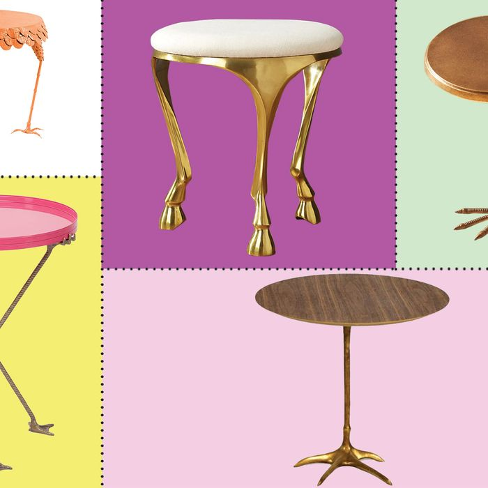 Side Tables With Animal Feet Are Now Officially A Thing