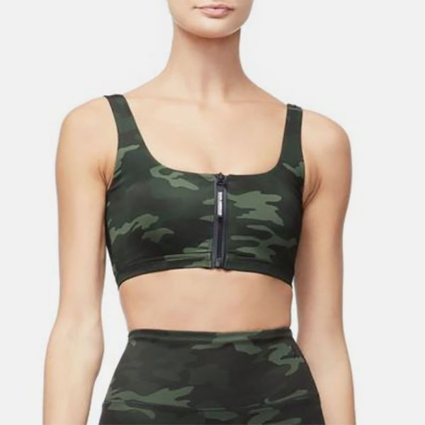 The Zip-Up Sports Bra