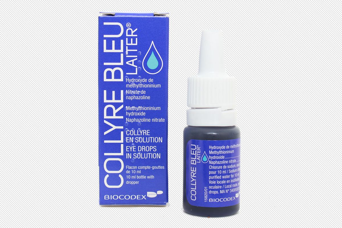 Laiter Collyre Bleu Eye Drops