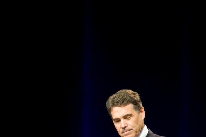 Rick Perry, pre-popover