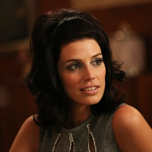 Megan Draper (Jessica Pare) - Mad Men - Season 6, Episode 2 - Photo Credit: Michael Yarish/AMC