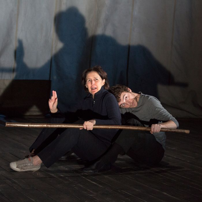 Photo: Performers: Fiona Shaw Daniel Hay-Gordon in