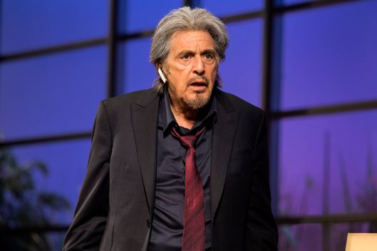 "Al Pacino in a scene from ""China Doll"" on Broadway at the Schoenfeld Theatre.  www.ChinaDollBroadway.com.  Photo by Jeremy Daniel."