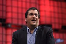 DUBLIN, IRELAND - NOVEMBER 05: In this handout image supplied by Sportsfile, Dave Goldberg, CEO of Survey Monkey, speaks on the centre stage during Day 2 of the 2014 Web Summit at the RDS on November 5, 2014 in Dublin, Ireland. (Photo by Stephen McCarthy / SPORTSFILE via Getty Images)