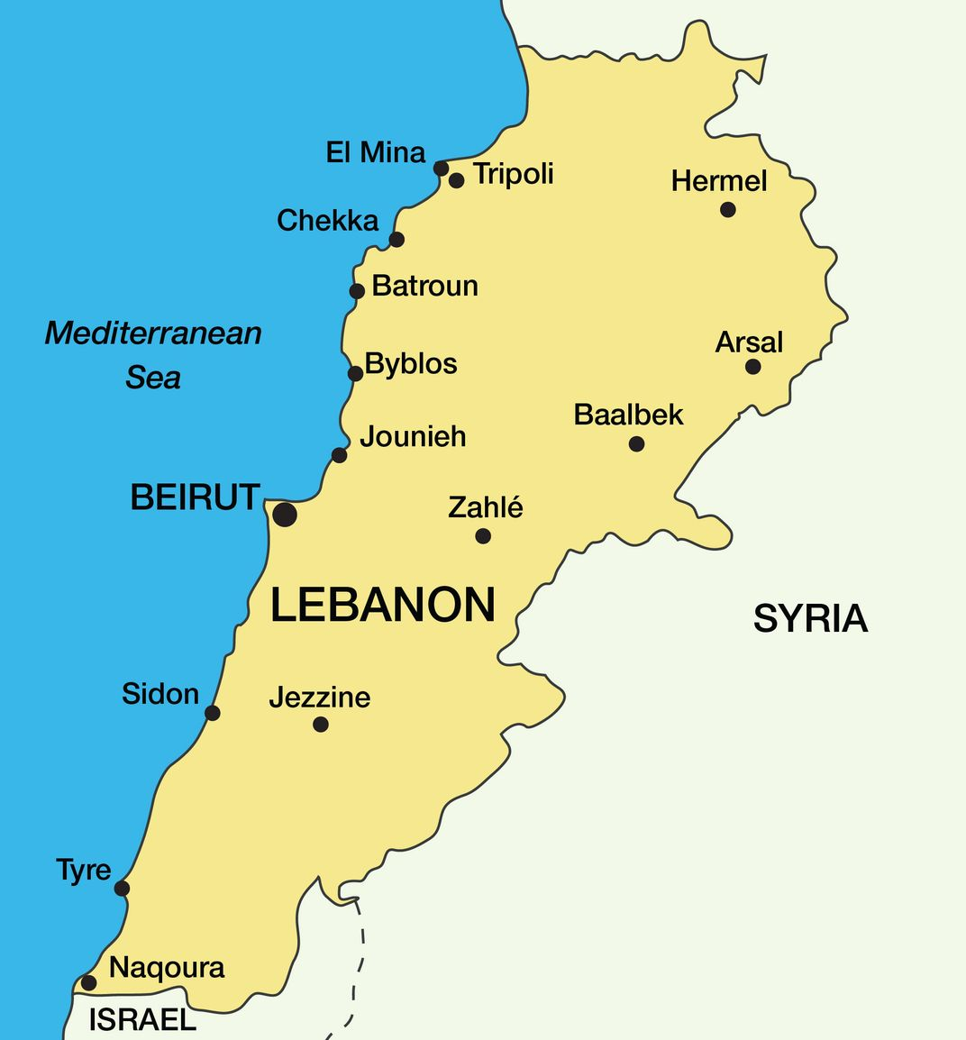 Isis Is Trying To Take Over Lebanon This Christian Village Is On The Front Lines
