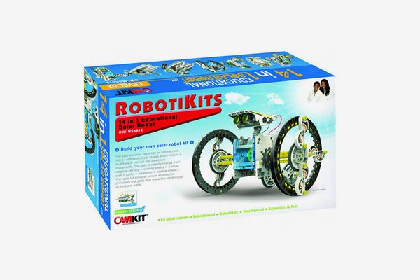 Build-Your-Own Solar Robot Kit