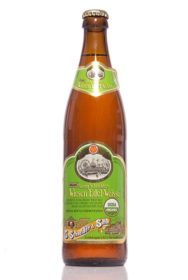 "Weissbierbrauerei G. Schneider & Sohn (Germany)<br>$9 for 17 oz. <br><strong>Type:</strong> Hefeweizen<br><strong>Tasting notes:</strong> ""Organic beer with notes of banana and cloves. Refreshing, with a big, fluffy head."" <br>—Lindsay Leviton, manager, The Ginger Man<br>"
