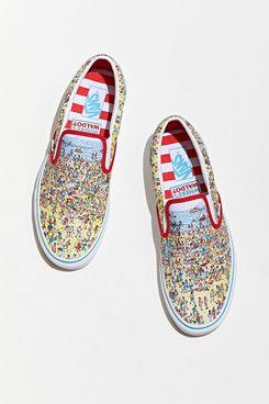 Vans X Where's Waldo Classic Slip-On Sneaker