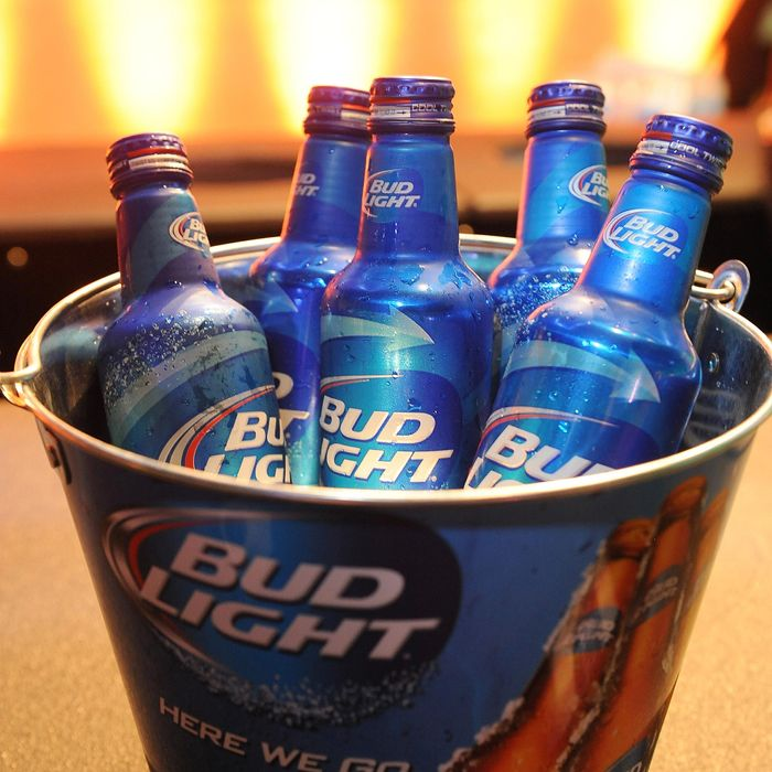 Ah yes, Bud Light, Gloria Steinem's beverage of choice.