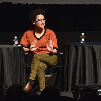 The New Yorker Festival 2015 - Ilana Glazer & Abbi Jacobson Talk With Emily Nussbaum