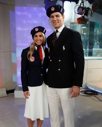 Ralph Lauren's U.S. Olympic team uniforms.
