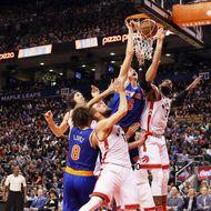 New York Knicks v Toronto Raptors
