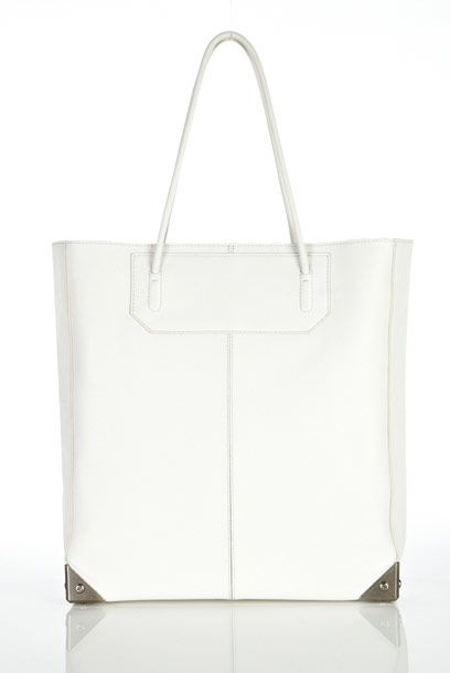 "Alexander Wang Prisma tote, $685, available at <a href=""http://www.alexanderwang.com/shop/accessories/bags/all/202021/prisma-tote-with-black-nickel-hardware"">Alexander Wang</a>."