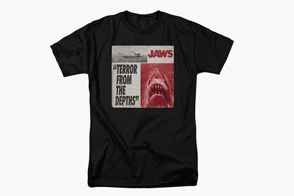 Popfunk Jaws Terror from The Depths Shark Retro T Shirt