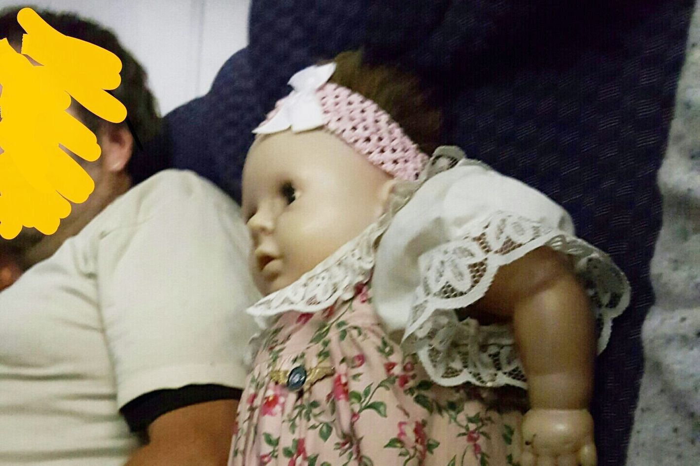 Woman sat next to 'terrifying' doll on two separate flights