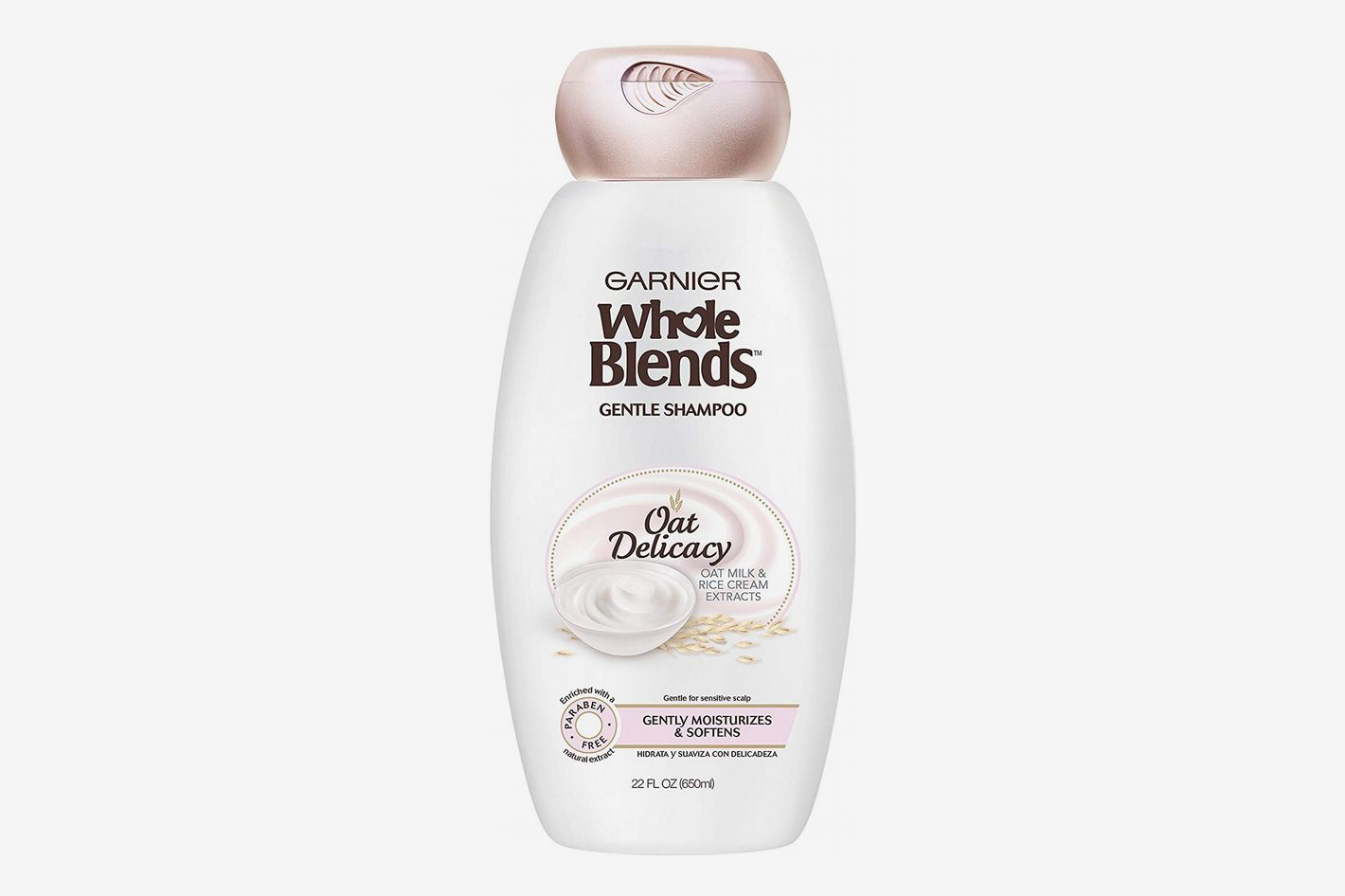 Garnier Whole Blends Gentle Shampoo Oat Delicacy