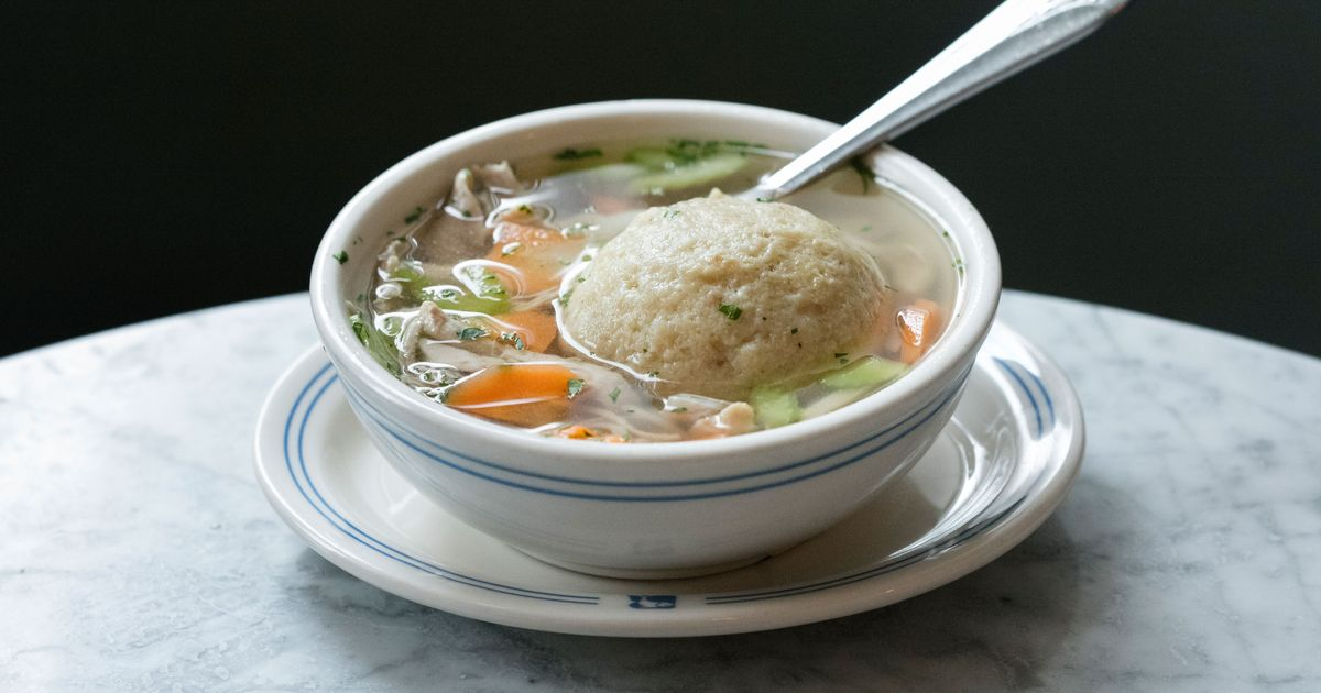 The Absolute Best Matzo Ball Soup in New York