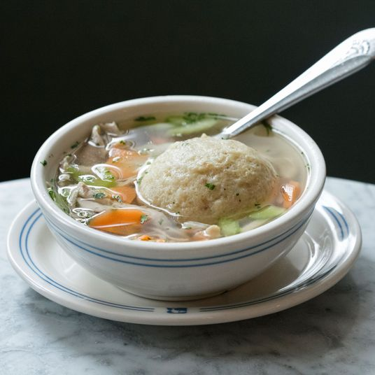 The Absolute Best Matzo Ball Soup in NYC