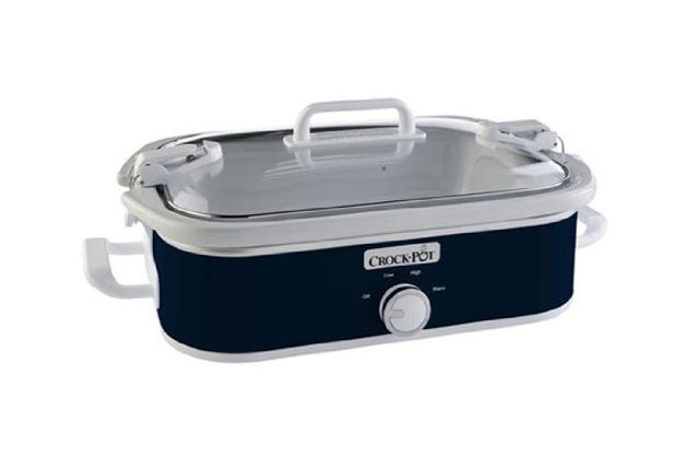 Crock-Pot 3.5-Quart Casserole Crock Manual Slow Cooker