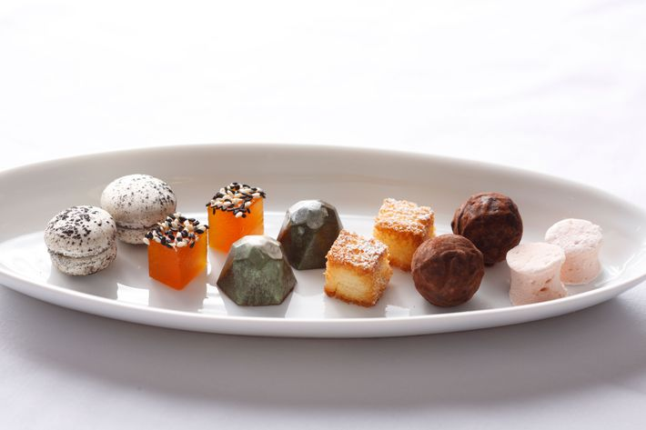 The petits fours are as luxe as ever.
