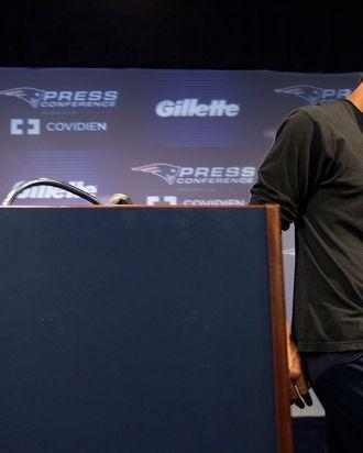 Tom Brady, sans shag.