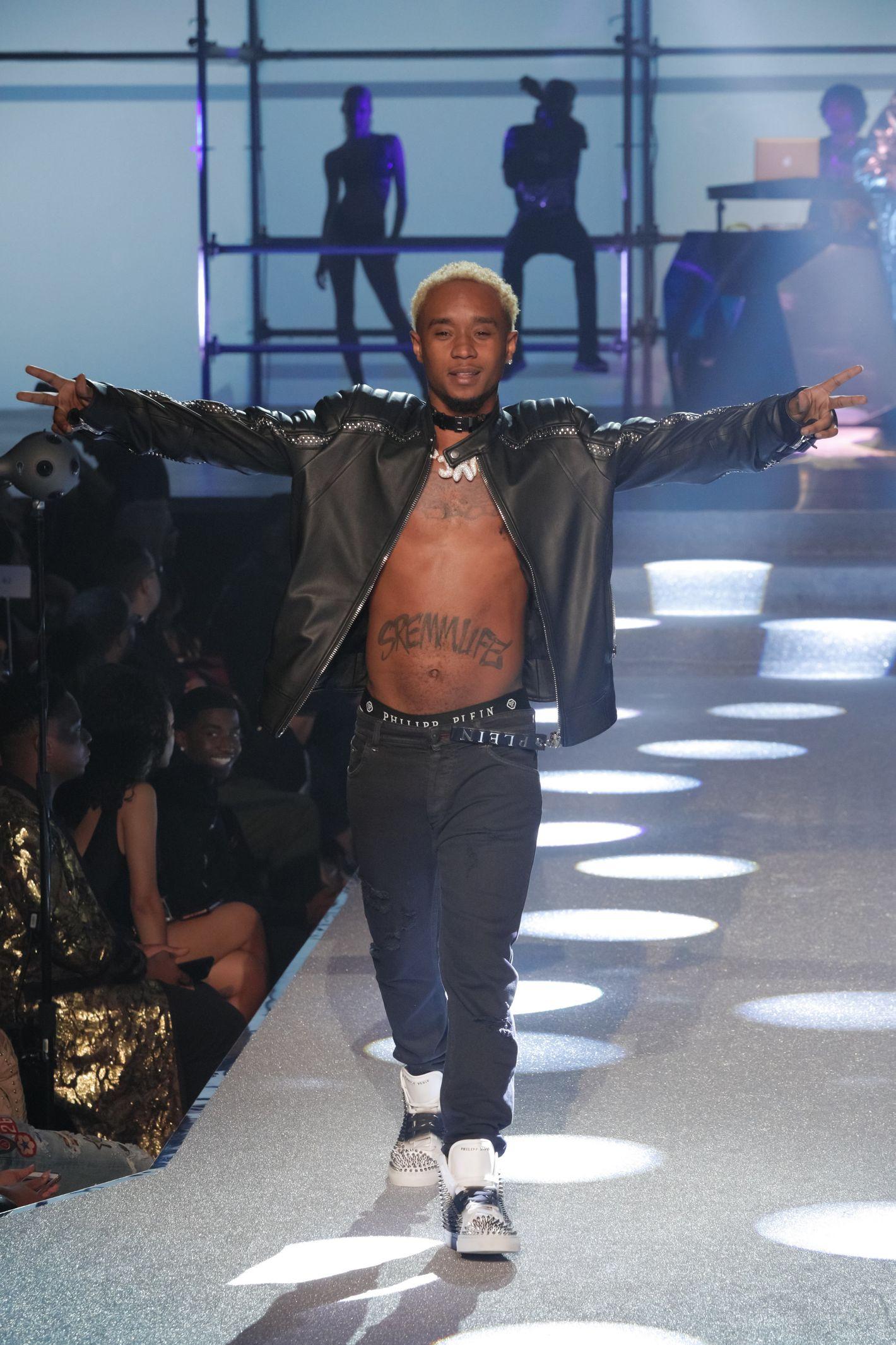 philipp plein  Nicki Minaj Called Out the Fashion Industry at Philipp Plein